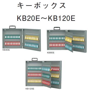 大建プラスチックス キーボックス KB40E 【フック数:40】 H350×W350×D68