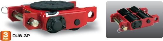 ダイキ スピードローラー 低床タイプ DUW-3P ダブル型4ローラー 能力3t