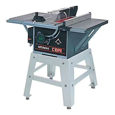 日立電動工具 255mmテーブルマルノコ C10FE(N)(のこ刃別売・スタンド別売)
