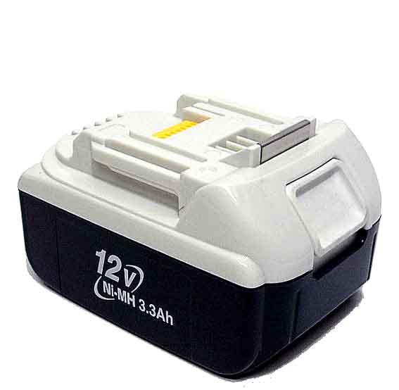 マキタ電動工具 12Vニッケル水素バッテリー(スライド式) BH1233C A-37655