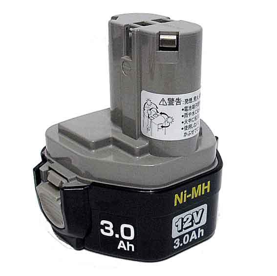 マキタ電動工具 12Vニッケル水素バッテリー 1235B A-36809