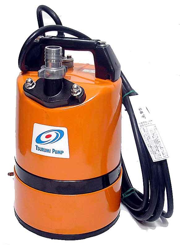 ツルミポンプ 工事排水【残水1mm】 水中ポンプ LSC1.4S