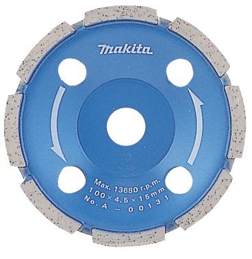 マキタ電動工具 ダイヤモンドホイール カップ型(研削用)100mm A-00131
