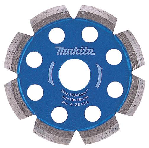 マキタ電動工具 ダイヤモンドホイール 溝付け用V溝型92mm A-36435
