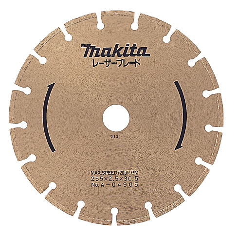 マキタ電動工具 ダイヤモンドホイール レーザーブレード305mm A-57582