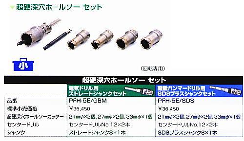 ボッシュ電動工具 ポリクリック 超硬深穴ホールソーユーザーセット