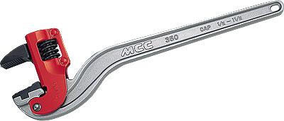 MCC コーナーレンチアルミ白・エンビ被覆用DA 900mm CWVDA900