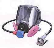 3M アスベストマスク 全面形プレッシャデマンド形エアラインマスク JHW-6800PD