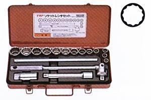 TOP(トップ工業) ソケットレンチセット SWS-413S 差込角12.7mm