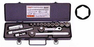 TOP(トップ工業) サーフェイスソケットレンチセット SSS-310F 差込角9.5mm