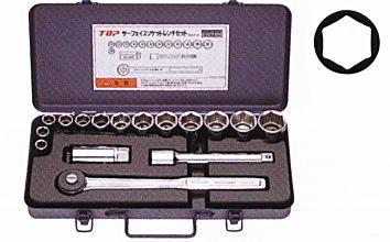 TOP(トップ工業) サーフェイスソケットレンチセット SSS-413 差込角12.7mm