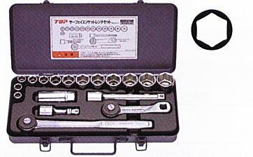 TOP(トップ工業) サーフェイスソケットレンチセット SSS-413F 差込角12.7mm