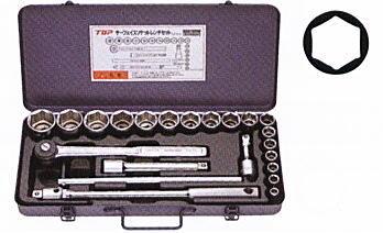 TOP(トップ工業) サーフェイスソケットレンチセット SSS-417S 差込角12.7mm
