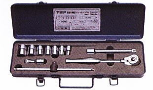 TOP(トップ工業) 首振り伸縮ラチェットハンドルセット 差込角9.5mm SR-3S