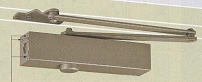 ドアクローザー NEWSTAR ニュースタードアクローザー PS-7004A(パラレル型・ストップ付) 段付ブラケット ドアチェック