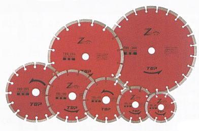 TOP(トップ工業) ダイヤモンドホイール セグメントタイプ305mm TDS-305A