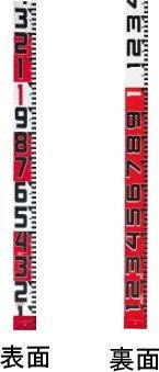 タジマツール登録販売店 タジマツール シムロンロッド-100 テープ幅100mm 30m 裏面仕様1mアカシロ SYR-30EK