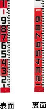 タジマツール登録販売店 タジマツール シムロンロッド-120 テープ幅120mm 30m 裏面仕様1mアカシロ SYR-30WK
