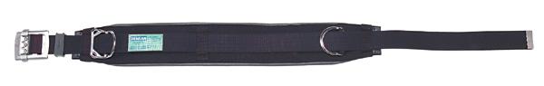 DENSAN(デンサン/ジェフコム) 柱上安全帯用ベルト D環1個 DB-96DS-BK1 ブラック