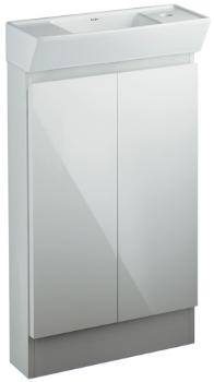 KAKUDAI カクダイ 200-311 角型手洗器(キャビネットつき)