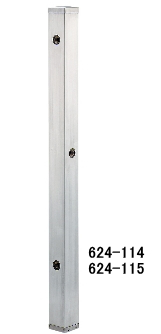 KAKUDAI カクダイ 624-115 ステンレス水栓柱(分水孔つき)(60角)
