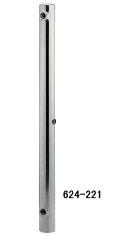 KAKUDAI カクダイ 624-221 ステンレス水栓柱(分水孔つき)