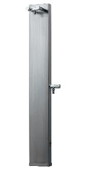 配送員設置 KAKUDAI カクダイ 624-101 ステンレス混合栓柱(ヘアライン仕上げ):ケンチクボーイ-エクステリア・ガーデンファニチャー