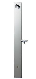 KAKUDAI カクダイ 624-107 ステンレス水栓柱(ヘアライン仕上げ)