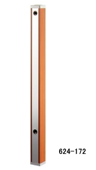 KAKUDAI カクダイ 624-172 水栓柱(ブラウン木目)(70角)