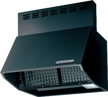 KAKUDAI カクダイ #FJ-BDR3HL901BK レンジフード(ブラック、深型)【全高600ミリ用の前幕板付属/その他の前幕板・横幕板は別売です】