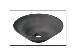 KAKUDAI カクダイ 瑠珠 493-037-DG 丸型手洗器(古窯)
