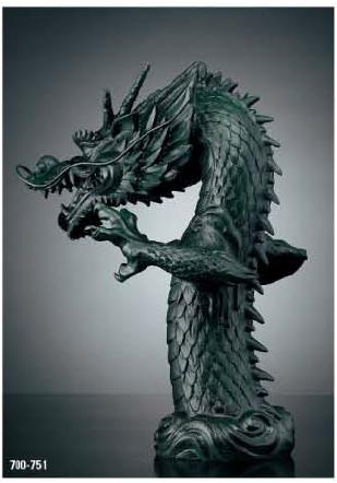 セール 登場から人気沸騰 KAKUDAI カクダイ 祥竜 700-751 吐水口(龍):ケンチクボーイ-木材・建築資材・設備