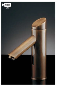 KAKUDAI カクダイ 能 713-333 センサー水栓(オールドブラス)