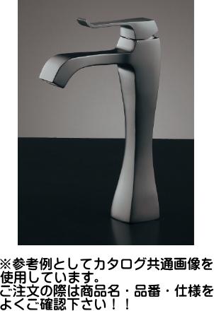 KAKUDAI カクダイ RATONA シングルレバー混合栓(トール・マットブラック) 183-173GN <ブレードホース・逆止なし>
