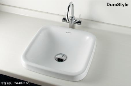 KAKUDAI カクダイ DURAVIT #DU-0372430000 角型洗面器