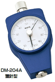 KDS ゴム硬度計 タイプA 置針型 DM-204A