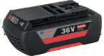 ボッシュ電動工具 36Vバッテリー【2.0Ah】 リチウムイオン スライドタイプ A3620LIB