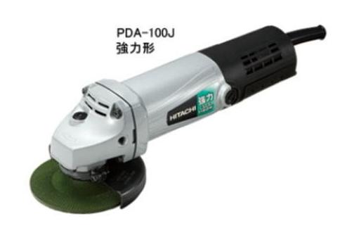 HiKOKI/ハイコーキ(日立電動工具) 100mm電気ディスクグラインダ PDA-100J(E)【3Pポッキンプラグ付】【100V仕様】【強力形】