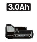 HiKOKI/ハイコーキ(日立電動工具) 14.4V 【3.0Ah】 リチウムイオン電池 BSL1430C 0033-9779