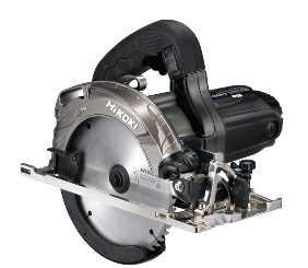 『のこ刃径165mmで66mm(2寸2分)を一発切断』 HiKOKI/ハイコーキ(日立電動工具) 165mm 深切り丸のこ C6MBYA2(B) [アルミベース・チップソー付]