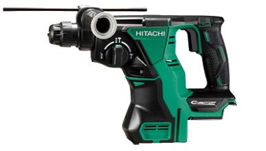 HiKOKI/ハイコーキ(日立電動工具) 18V充電式ロータリーハンマードリル DH18DBL(NN)(本体のみ)【バッテリー・充電器は別売】(SDSプラス)