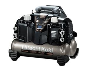 HiKOKI/ハイコーキ(日立電動工具) 一般圧専用 エアコンプレッサー(タンク容量8L) EC1245H3(N) 【釘打機用/セキュリティ機能なし】