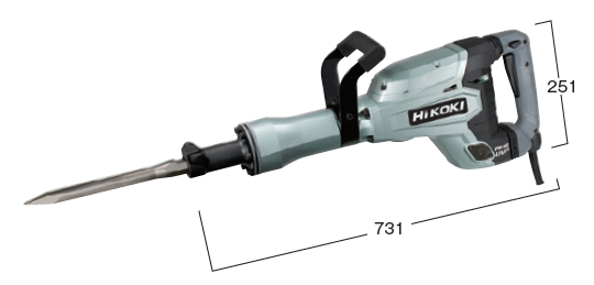 HiKOKI/ハイコーキ(日立電動工具) 電動ハンマー H65SB3【六角軸30mmシャンク】