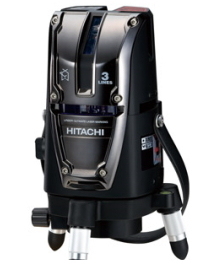 HiKOKI/ハイコーキ(日立電動工具) レーザー墨出し器 UG25U3(J)【垂直2本】【受光器付】