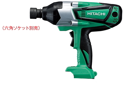 HiKOKI/ハイコーキ(日立電動工具) 14.4V充電式インパクトレンチ WR14DSHL(NN)(本体のみ/ソケットは別売)【バッテリー・充電器は別売】
