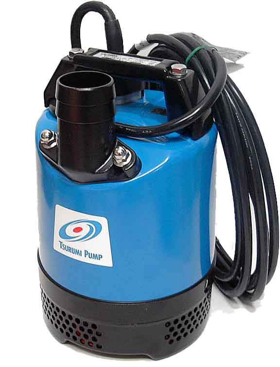 ツルミ 水中ポンプ 工事排水 自動運転型 LB-480A オート