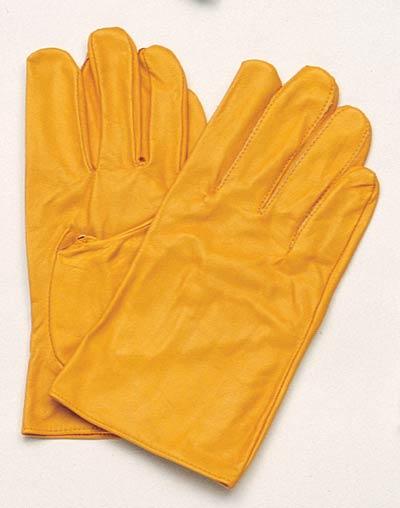 【伝統のKOZUCHI】 コヅチ 手袋 クレストA イエロー サイズL KG-102(10双入)
