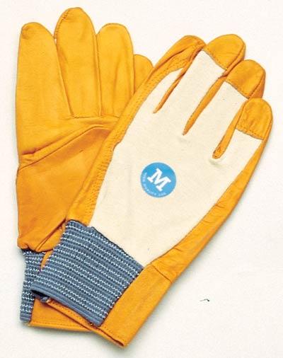 【伝統のKOZUCHI】 コヅチ 手袋 電工アルミ イエロー サイズM KG-114(10双入)