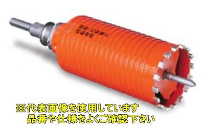 ミヤナガ ポリクリックシリーズ 乾式 ドライモンドコアドリル(セット) PCD180R SDSプラスシャンク【刃先径:180mm 有効長:150mm】
