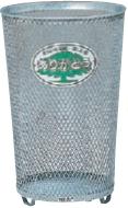 ミヅシマ工業 屑入 202-0150 センターパック #500【大】【98L】 ●亜鉛メッキ【納期目安2~3日】【3台】